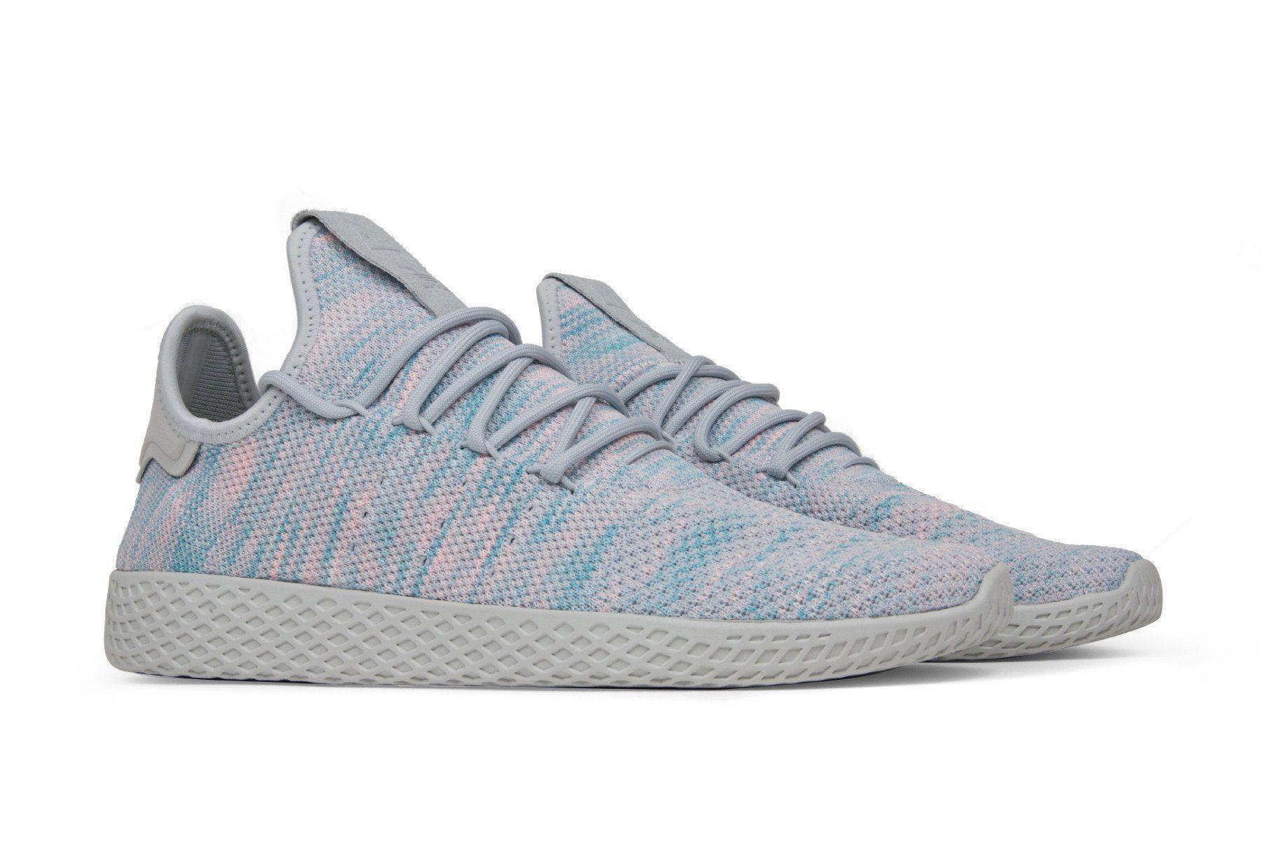 c94633480 Adidas Originals x Pharrell Williams  Tennis HU  - Light Blue ...