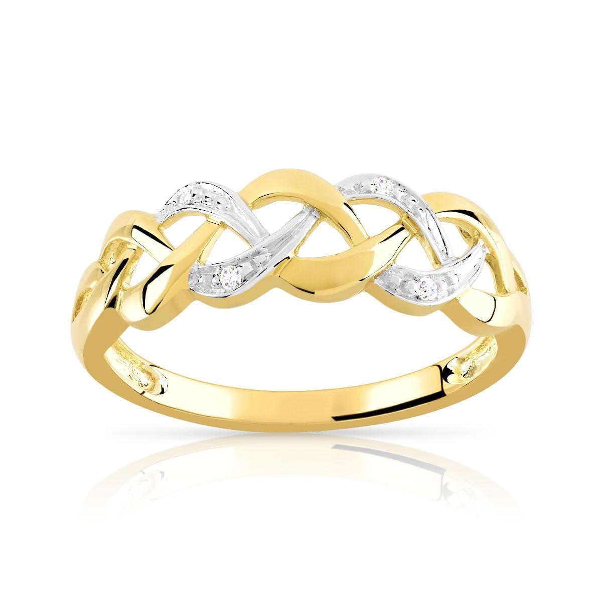 bague diamant taille 62