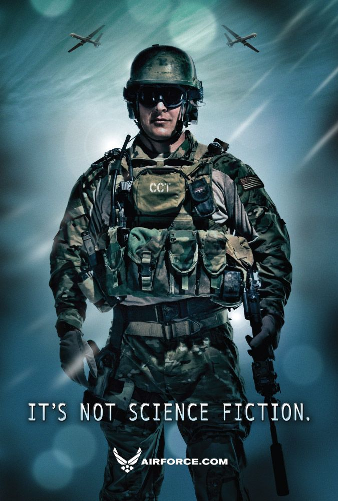"""U.S.A.F, CCT, Combat Controller """"First There"""".. Air"""