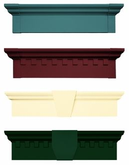 Vinyl Decorative Window Headers For The Home In 2019