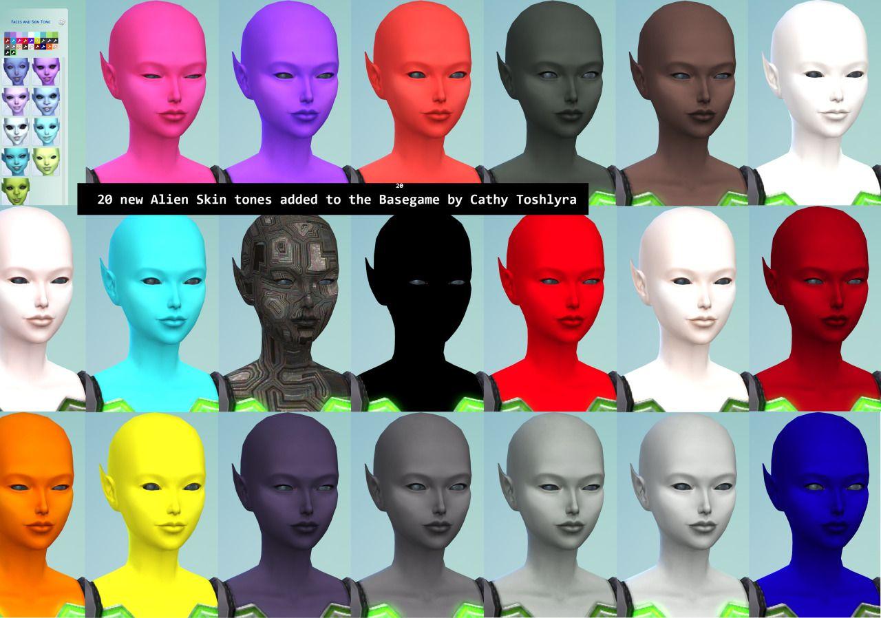 Alien Cathytoshlyra Tones Skin 20 The Added New To Basegame By cj5A4RL3q