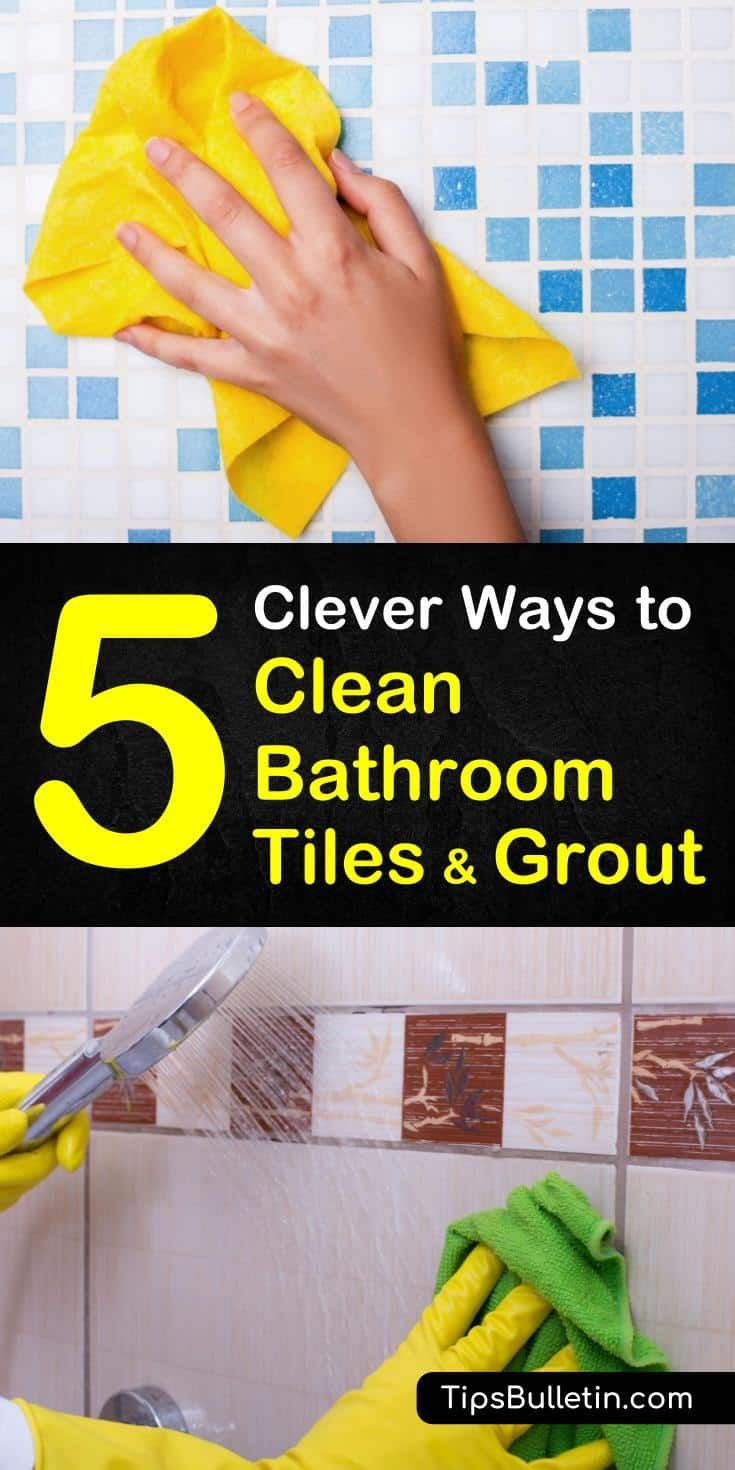 5 clever ways to clean bathroom tile and grout cleaning