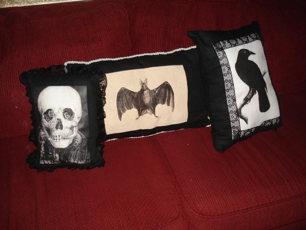 hauntingly fun pillows