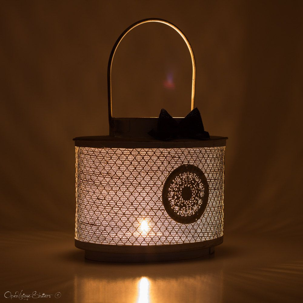 Metal lantern centerpiececandle holdernautical wedding decorhome