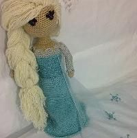Crocheting: Elsa Frozen Crochet Pattern