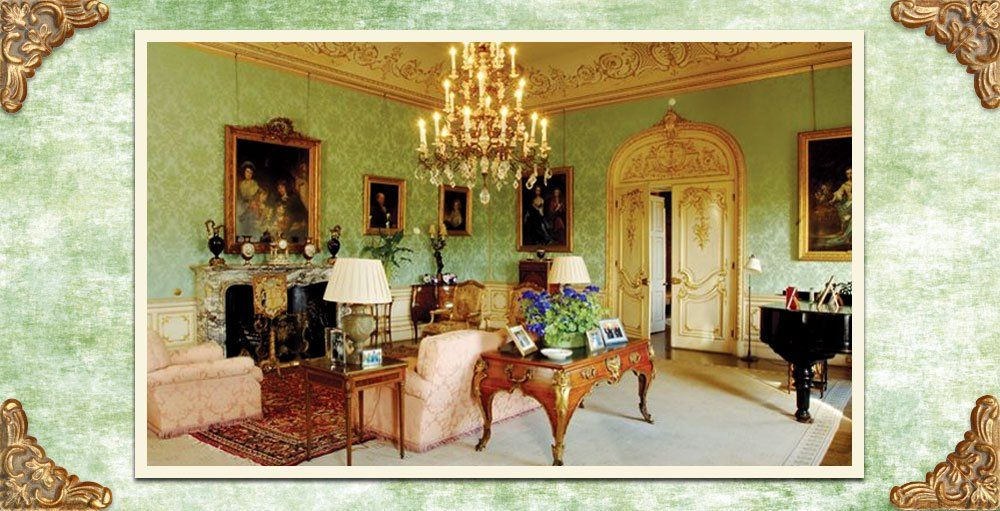 Downton Abbey Decor Highclere Castle Drawing Room