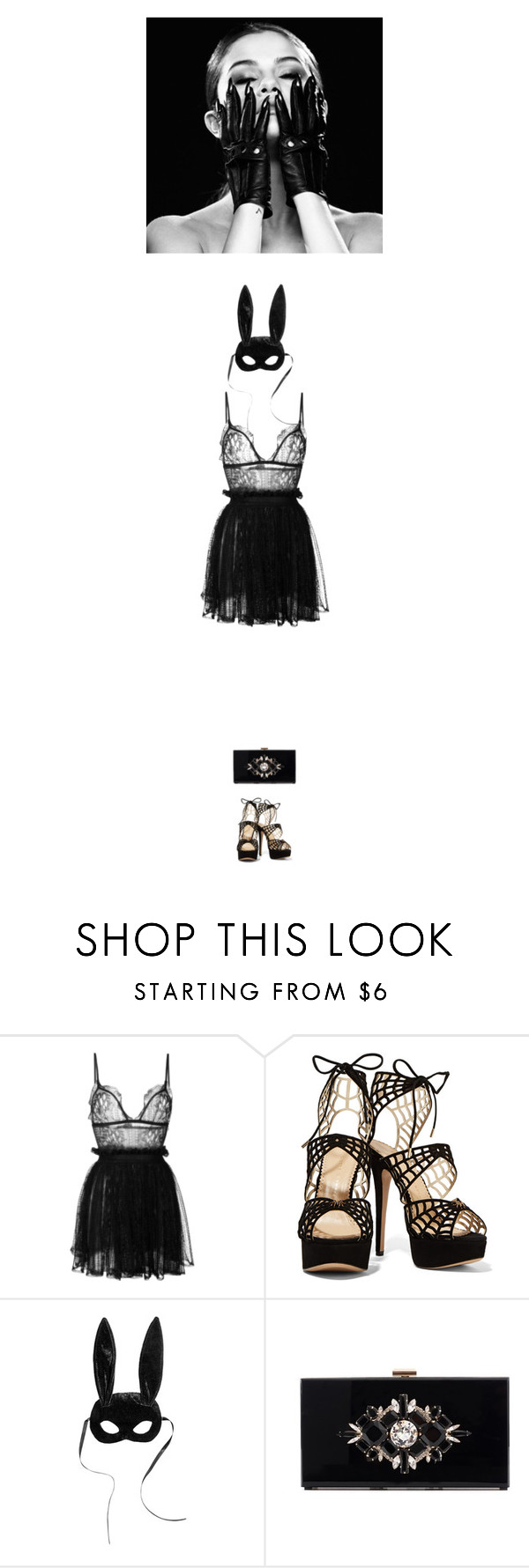 """""""SM8 Nº7 All Hallows Eve"""" by just-lala ❤ liked on Polyvore featuring Alexander McQueen and Noir"""
