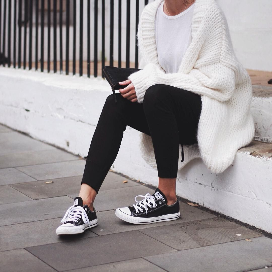 Converse Black outfits tumblr pictures photos