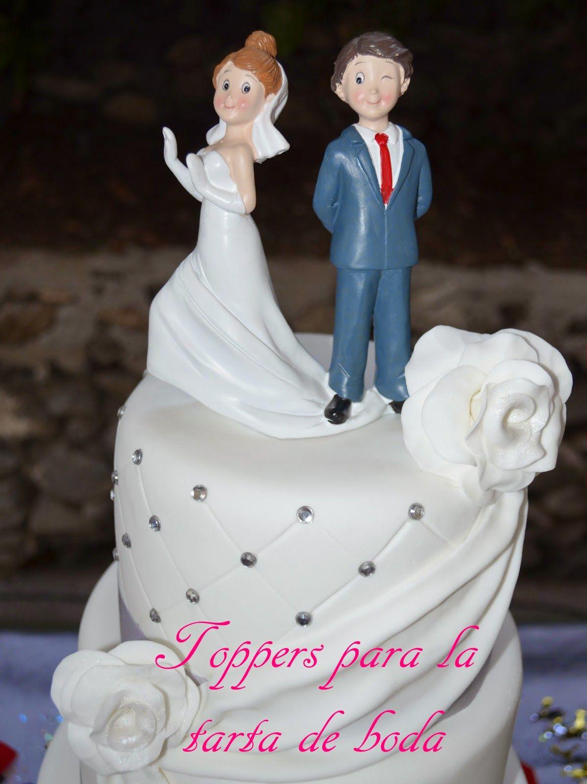 Las bodas de Lorena: Toppers para la tarta de boda