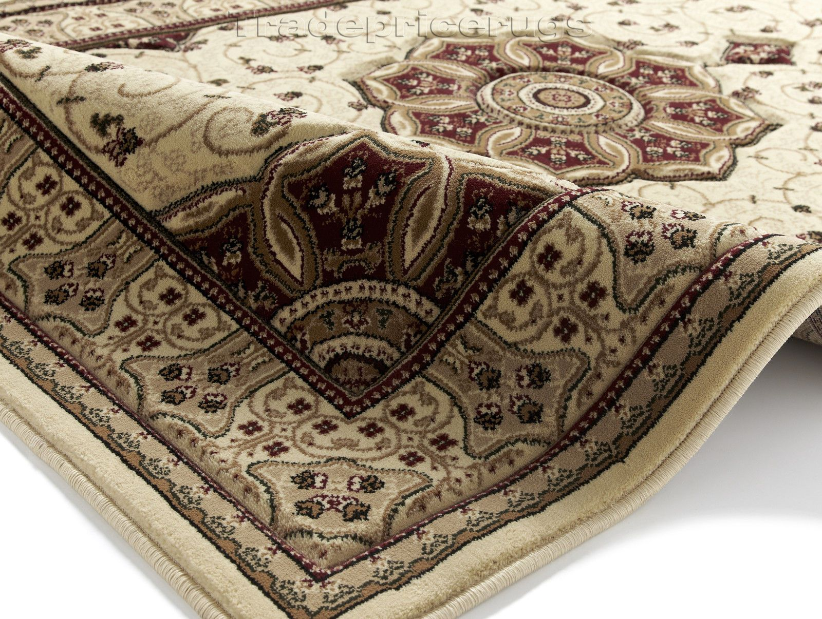 Small Extra Large Traditional Clic Thick Luxury Soft Wool Look Heritage Rugs In Home