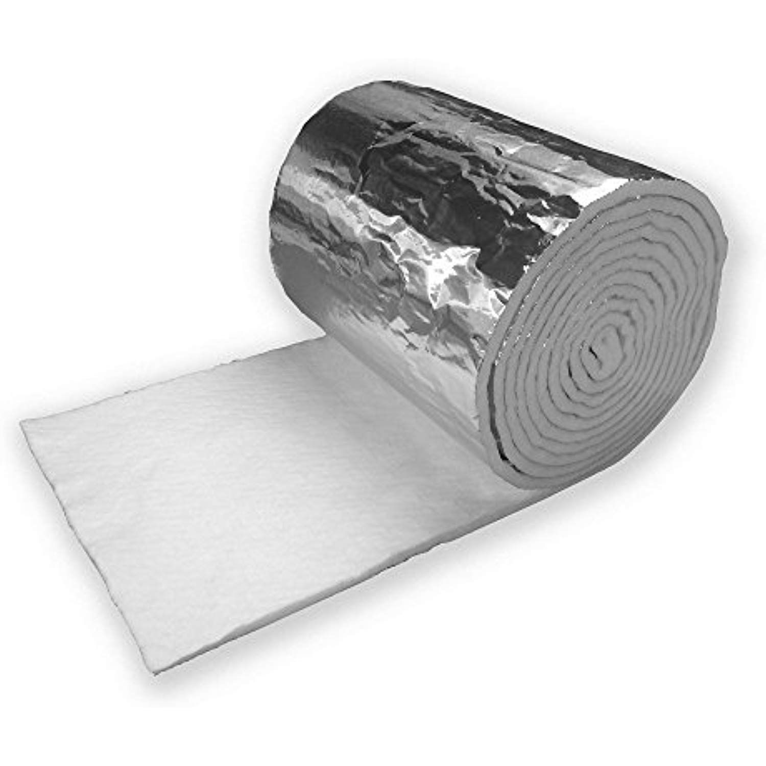 1 2 X 48 Foil Faced Ceramic Blanket 25 Long More Info Could Be Found At The Image Url Heatingcool Blanket Insulation Heating And Cooling Air Quality