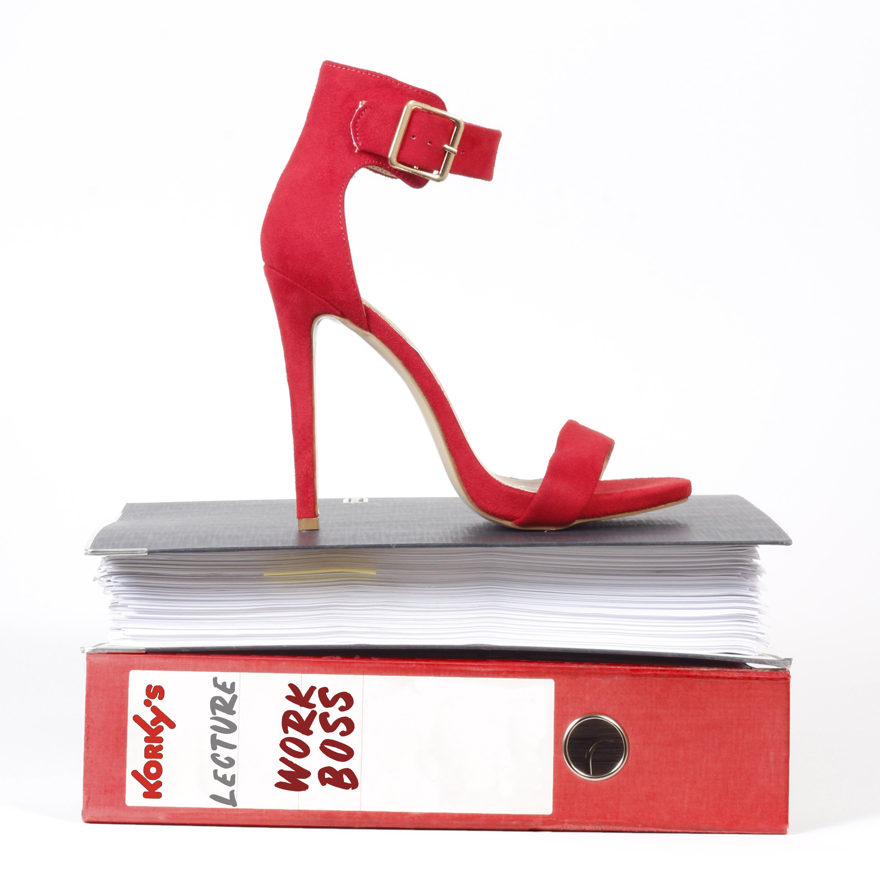 e29edfaf3 Be a WORK BOSS in these red heels to celebrate National Student Day ...