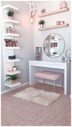 Perfect Small Bedroom Decorations #bedroomideas #smallbedroomideas #bedroomdecoration » aesthetecurator.com