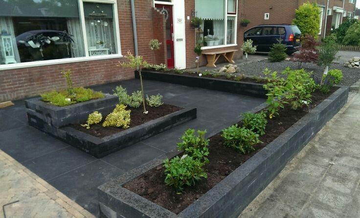 Speelse Voortuin Ideeen : Voortuin idee tuin pinterest gardens garden ideas and front yards
