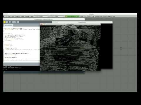 tutorial/download code // DIY 3D Scanning with Microsoft Kinect and