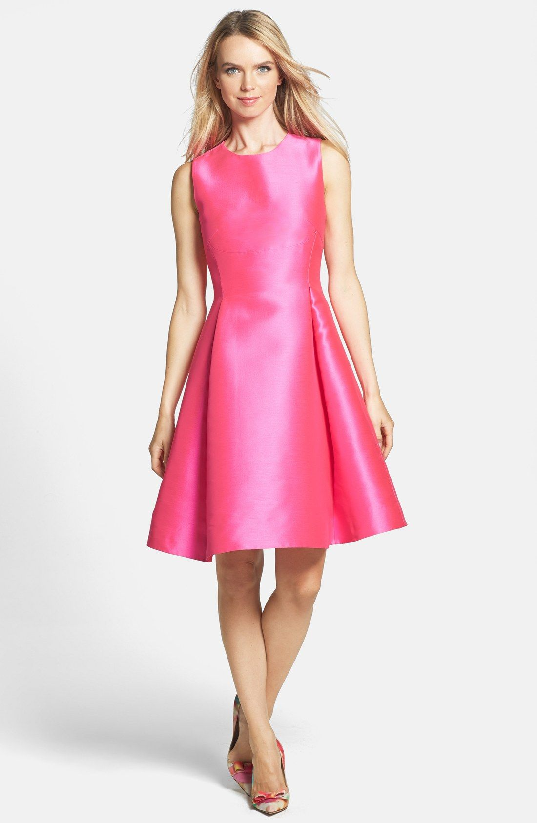 kate spade new york \'roset\' woven fit & flare dress. LOVE IT!!! | My ...