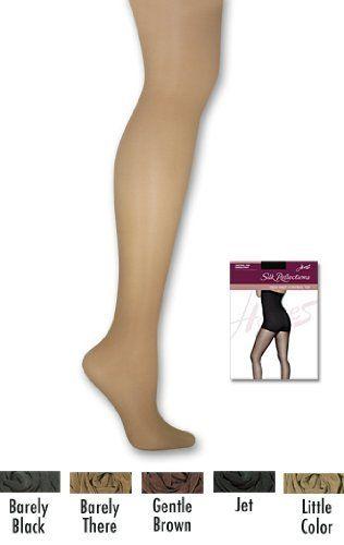 Hanes - Silk Reflections Womens High Waist Control Top