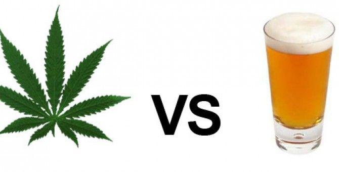 Marijuana vs. Alcohol facts