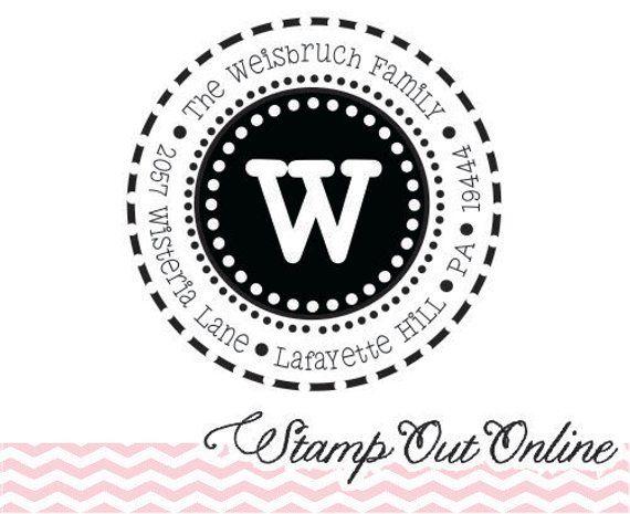 Custom Personalized Stamper