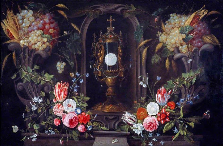Jan van Kessel the Elder (1626-1679) — Still Life of Flowers and ...