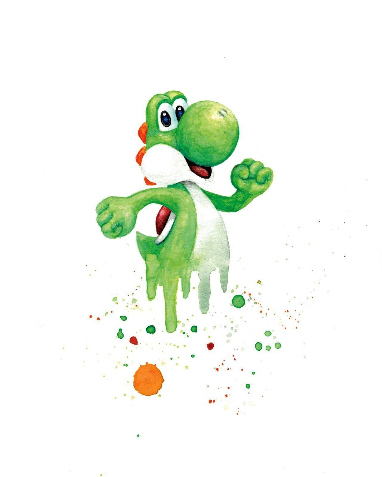 Bros Watercolors made byShahuskies -Smash Bros Watercolors made byShahuskies -  staticblu:Finis