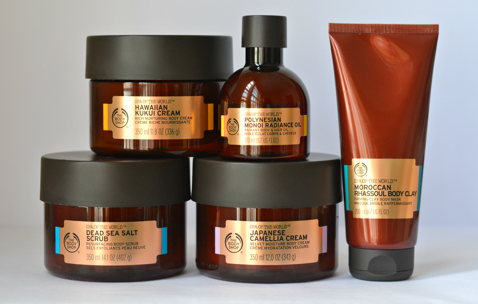 The Body Shop 'Spa Of The World' Collection (Plus A Sneaky