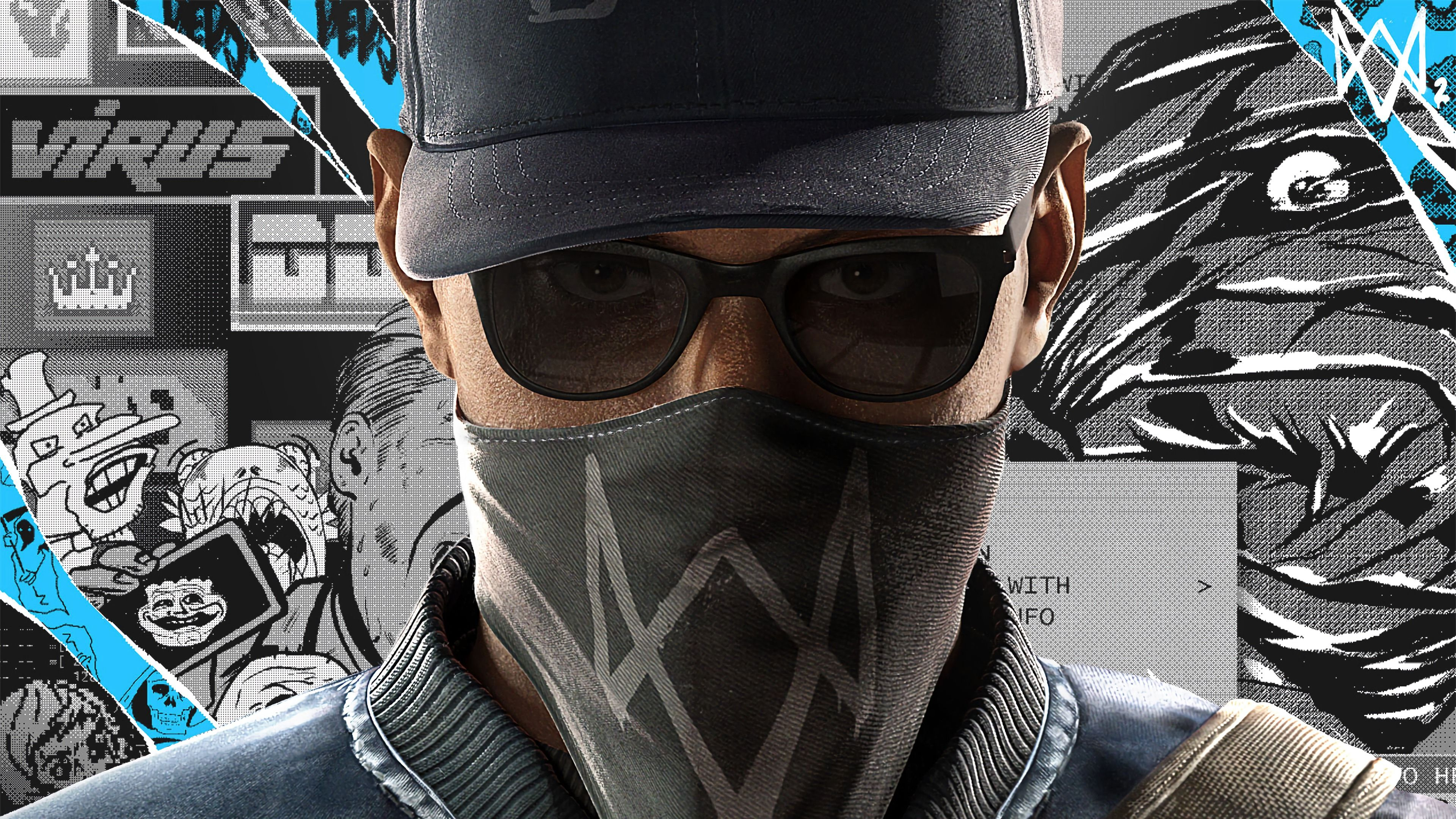 Watch Dogs 2 Marcus Holloway 4k Wallpapers Hd Wallpapers Watch Dogs Marcus Ubisoft