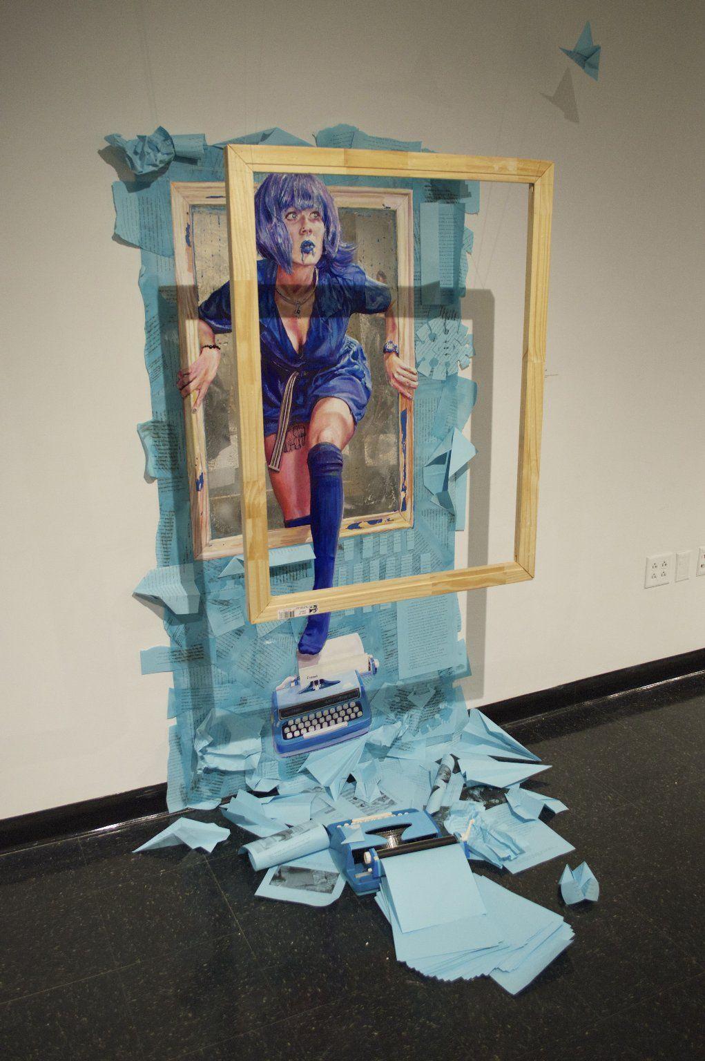 Katie Wild, 2015, UMass Dartmouth Student work, Fine art