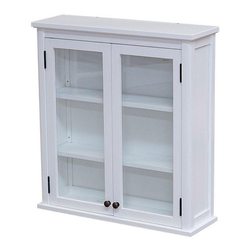 15++ Fully assembled bathroom wall cabinet model