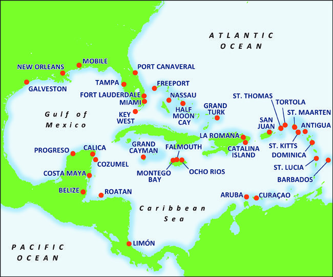 Carnival Cruise destinations.... | wanderlust ▽ over the mountains on
