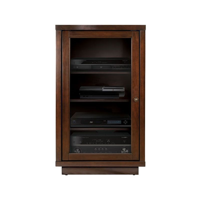 View A Larger Image Of The Bello No Tools Embly Wood Audio Video Cabinet Dark