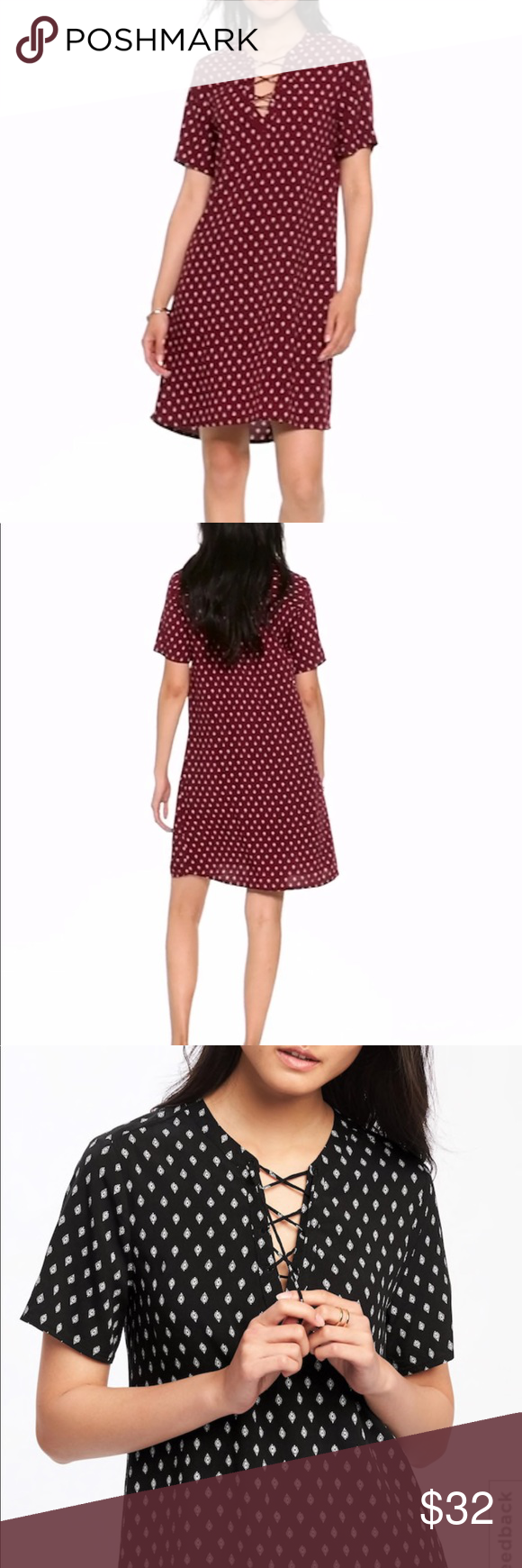 NWT old navy lace up dress