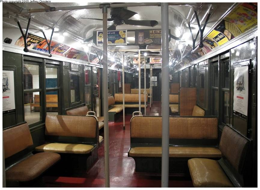 new york subway 1950 s nyc subway. Black Bedroom Furniture Sets. Home Design Ideas