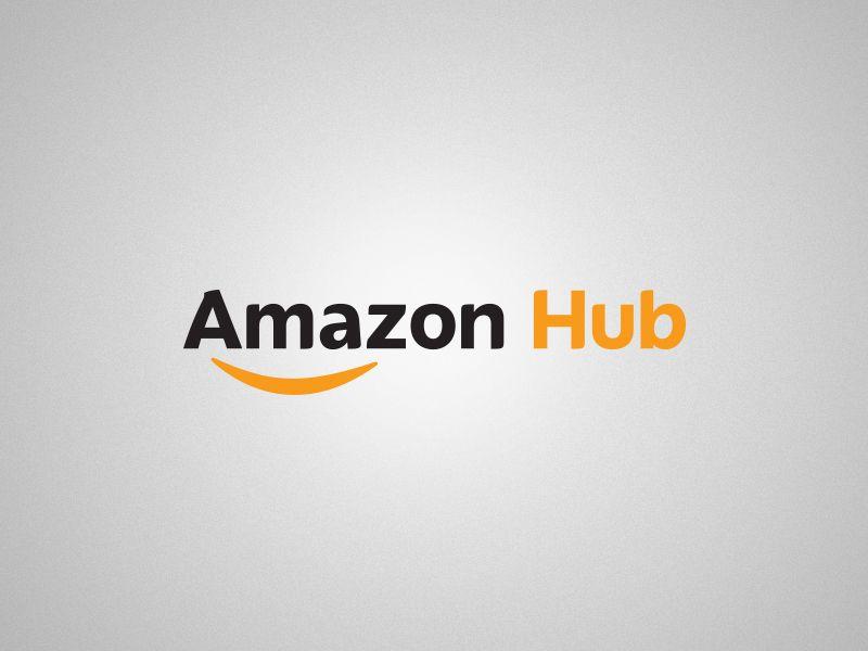 Amazon Hub Logo By Craft Design Amazon Hub Hub Logo Amazon