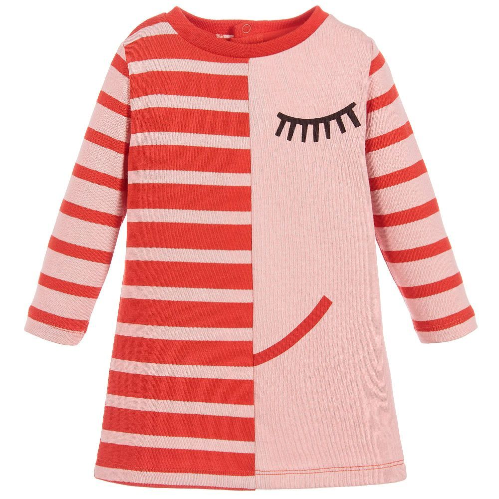 This adorable dress by stella mccartney kids is uniquely designed