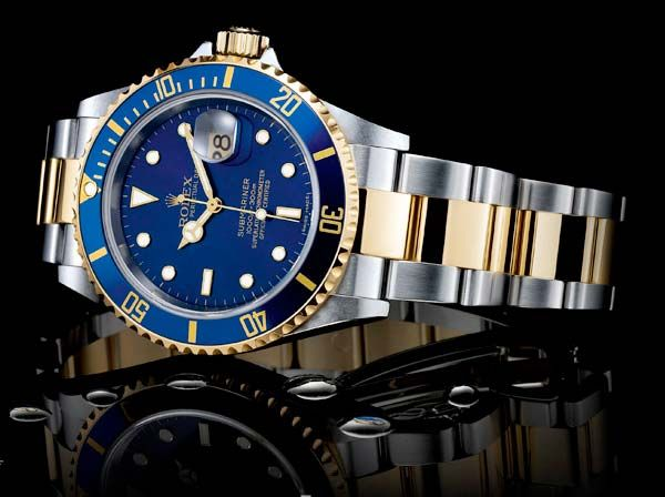 f73f22da8ab The Watch Quote  The Rolex Oyster Perpetual Submariner Date watch in steel  and gold
