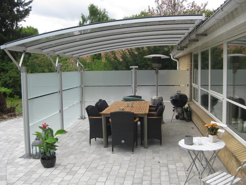 Højmoderne overdækket terrasse - Google-søgning   h   Terrasse, Udendørs PD-84