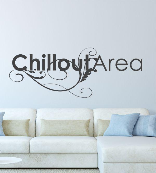 Wandtattoos, Wandsticker, Chill, Area, Wandtattoo Wohnzimmer - wandtattoos für wohnzimmer
