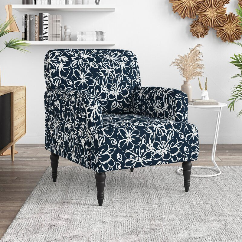 Castorena Armchair In 2021 Upholstered Arm Chair Armchair Canora Grey