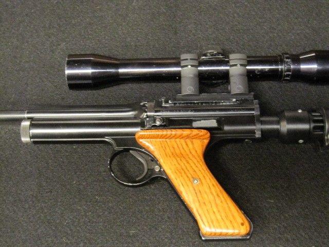 Crosman 600 The pistol has been resealed & shoots great  Metal