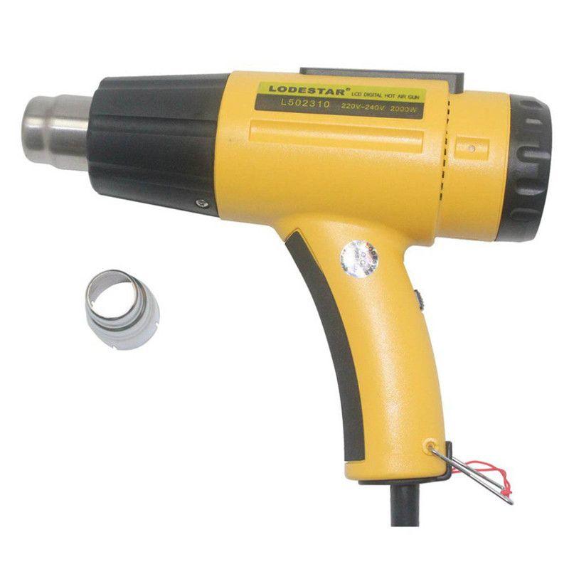 LODESTAR 2000W LCD Digital Electric Hot Air Gun Heat Temperature Adjustable I9I3