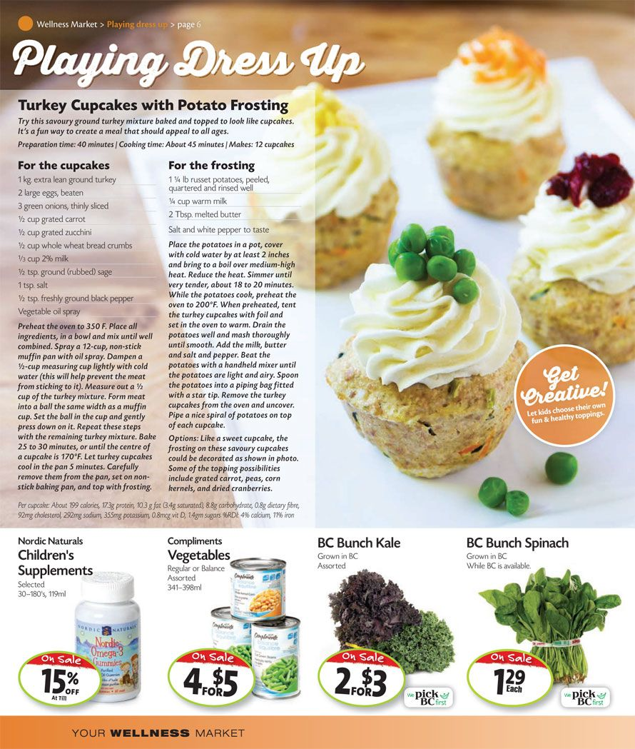 Thrifty Foods Interactive Flyer Wellness Insert (pg. 6