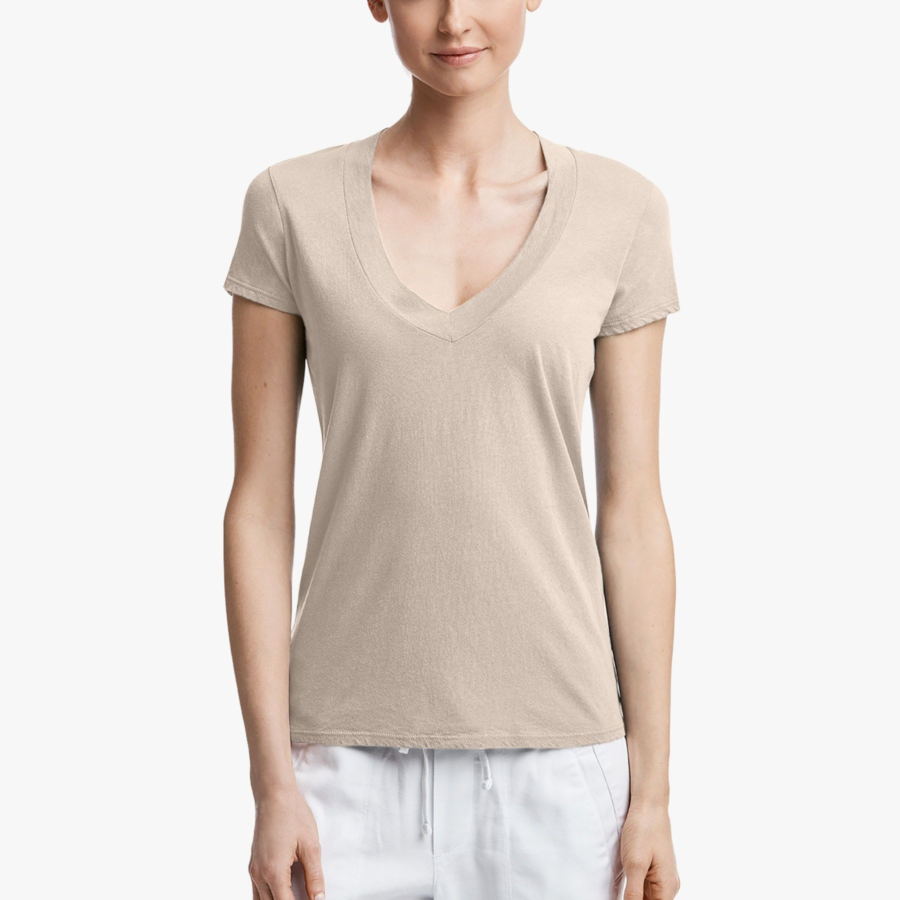 4735e1792d47a5 RELAXED V-NECK