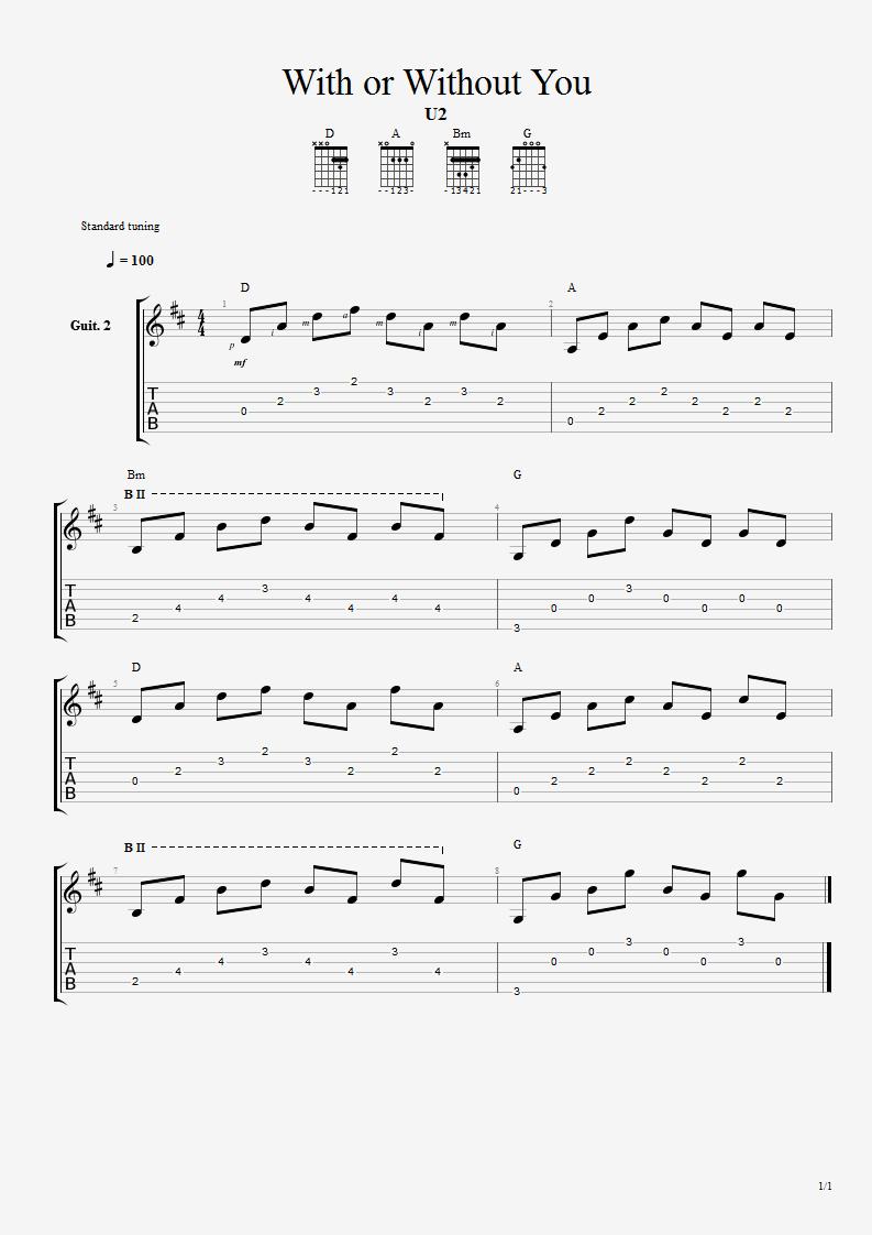 Tablatura guitarra canciones buscar con google guitarra for Partituras guitarra clasica