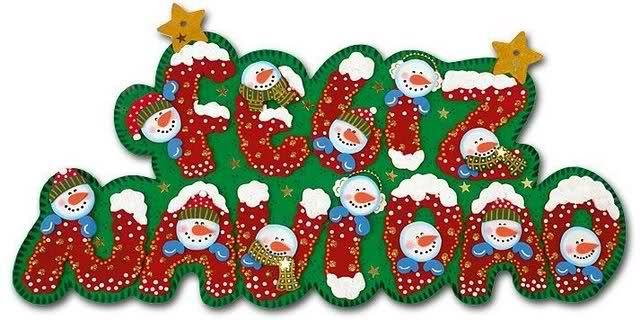 Letrero Navideño Con Moldes ε з Letras Feliz Navidad Letrero De Feliz Navidad Carteles De Navidad