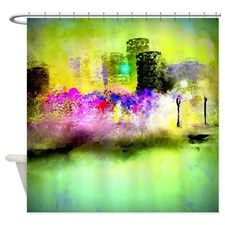 Mardi Gras Shower Curtain For