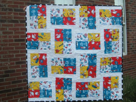 PDF Quilt Pattern  The Quilt in the Hat  Baby by MeadowMistDesigns, $8.00