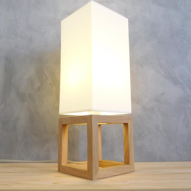 Wooden Table Lamp Shade Modern Bedside Lamps For Living Room With Abat Jour New Home Gift Ideas Wooden Table Lamps Table Lamp Shades Lamps Living Room
