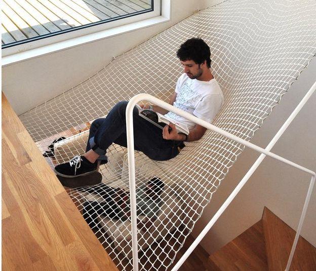filet, descente du0027escalier Idée maison Pinterest Architecture