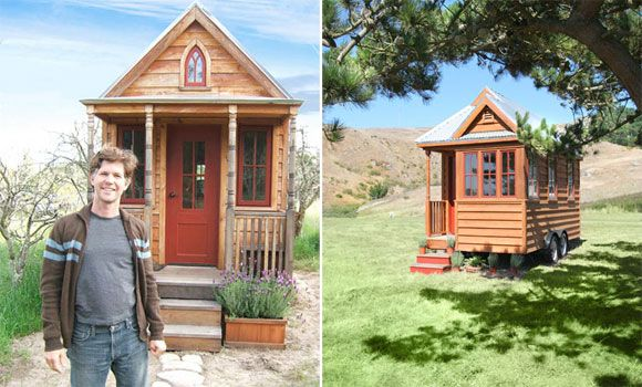 Small Portable Houses | architectural building tagged as small house design tiny house design